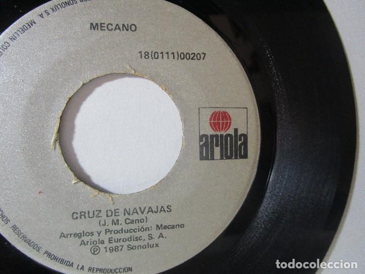 Discos de vinilo: MECANO 1987 SONOLUX ARIOLA COLOMBIA 45RPM T51 ESCASO G. - Foto 2 - 92292495