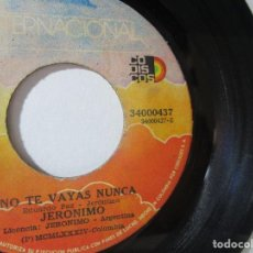 Discos de vinilo: JERONIMO EDUARDO PAZ COLOMBIA 45RPM T51 ESCASO R. Lote 92293005