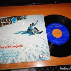 Discos de vinilo: DUO DINAMICO A NUESTROS AMIGUITOS EP VINILO DEL AÑO 1966 CUENTO YE YE 4 TEMAS MUY RARO. Lote 92296915