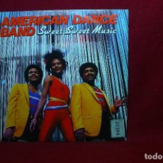 Discos de vinilo: AMERICAN DANCE BAND / SWEET SWEET MUSIC / GET IT ON / MOVIE PLAY, PROMOCIONAL DE 1983, ESPAÑA.. Lote 92313330