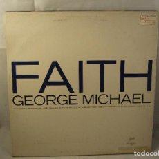 Discos de vinilo: GEORGE MICHAEL FAITH INCLUYE I WANT YOUR SEX . DISCO VINILO LP. Lote 92325475