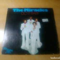 Discos de vinilo: THE MIRACLES - DO IT BABY + I WANNA BE WITH YOU. Lote 92332400