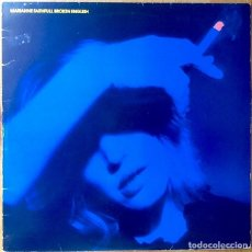 Discos de vinilo: MARIANNE FAITHFULL : BROKEN ENGLISH [UK 1979] LP/1ST EDITION. Lote 92367050