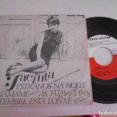 Discos de vinilo: JACINTA-EP ESTRAÑOS NA NOITE +3-1967. Lote 92392880