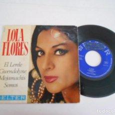 Discos de vinilo: LOLA FLORES-EP EL LERELE +3. Lote 92400130