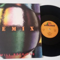 Discos de vinilo: REMIX - WE WILL ROCK YOU. Lote 92406210