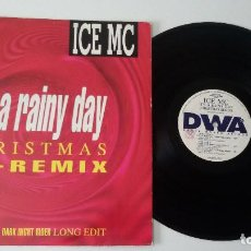 Discos de vinilo: ICE MC ‎- IT'S A RAINY DAY (CHRISTMAS RE-REMIX) . Lote 92408460