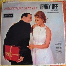 Discos de vinilo: LP - LENNY DEE - SOMETHING SPECIAL (ENGLAND, BRUNSWICK RECORDS 1964). Lote 100529572