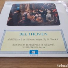 Discos de vinilo: BEETHOVEN. SINFONIA Nº 3 EN MI BEMOL MAYOR,OP.55 HEROICA. Lote 92441380