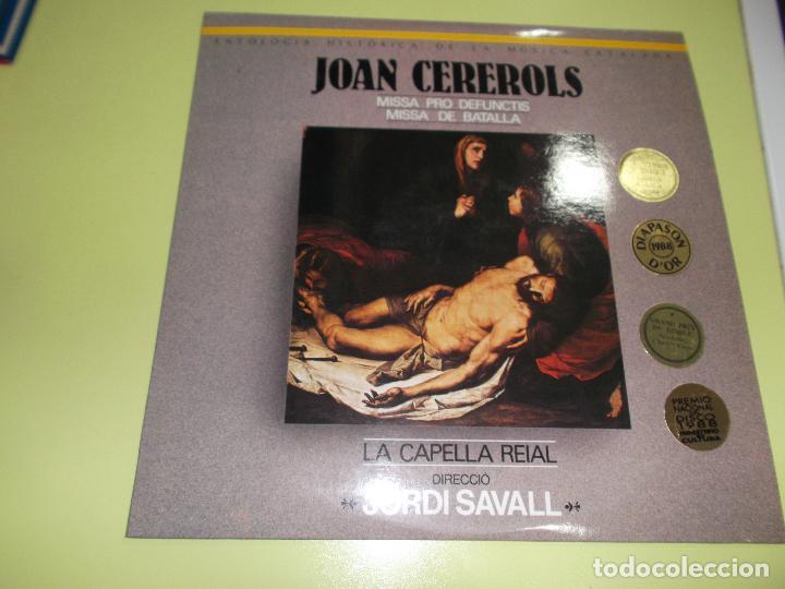 Discos de vinilo: JOAN CEREROLS MISSA PRO DEFUNCTIS MISSA DE BATALLA DIRECCIO JORDI SAVALL ,2 lps - Foto 4 - 92449710