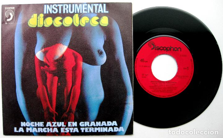 CARL BAROK - NOCHE AZUL EN GRANADA - SINGLE DISCOPHON 1977 BPY (Música - Discos - Singles Vinilo - Funk, Soul y Black Music)