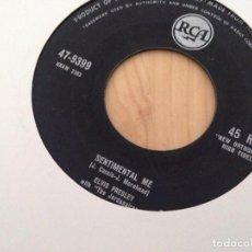 Discos de vinilo: ELVIS PRESLEY WITH THE JORDANAIRES---ROCK AND ROLL. Lote 92452020