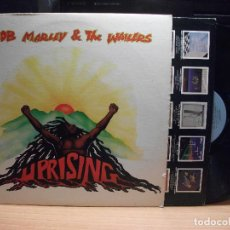 Discos de vinilo: BOB MARLEY & THE WAILERS UPRISING LP USA 1980 PDELUXE. Lote 92471450