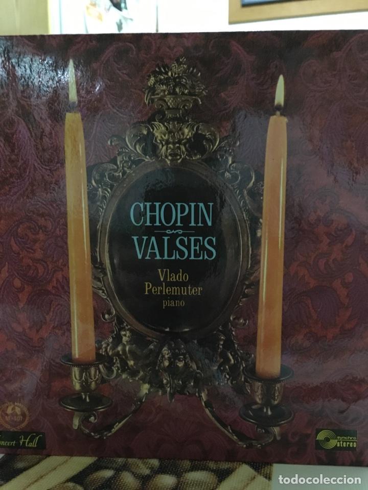 VLADO PERLEMUTER-CHOPIN WALTZES-CHOPIN VALSES-1966-NUEVO (Música - Discos - Singles Vinilo - Clásica, Ópera, Zarzuela y Marchas)