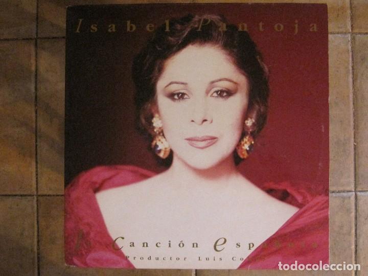 ISABEL PANTOJA - CANCIÓN ESPAÑOLA - DOBLE LP RCA DE 1990 INCLUYE CARTEL,ENTRADA + EXTRAS-VER FOTOS. (Música - Discos - LP Vinilo - Flamenco, Canción española y Cuplé)