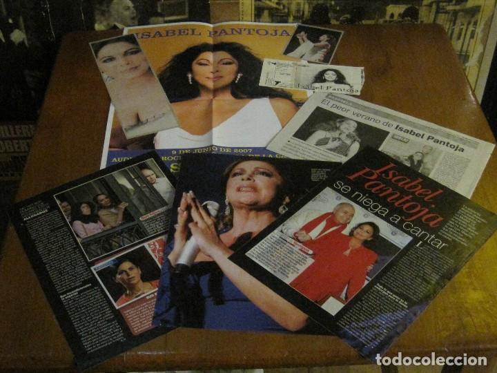Discos de vinilo: ISABEL PANTOJA - CANCIÓN ESPAÑOLA - DOBLE LP RCA DE 1990 INCLUYE CARTEL,ENTRADA + EXTRAS-VER FOTOS. - Foto 4 - 92490530