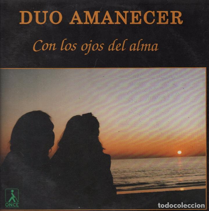 DUO AMANECER - CON LOS OJOS DEL ALMA , AMARGO EQUIPAJE LP DE 1992 RF-3499 (Música - Discos - LP Vinilo - Grupos Españoles de los 70 y 80)