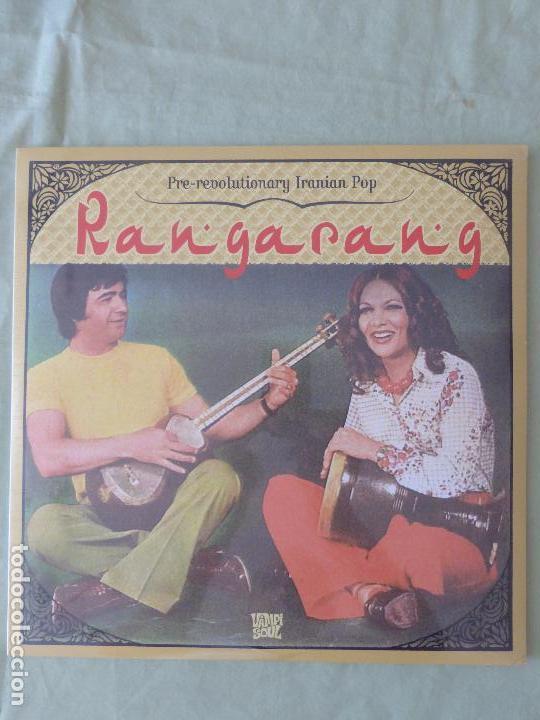 RANGARANG: PRE-REVOLUTIONARY IRANIAN POP - TRIPLE VINILO PRECINTADO - EL POP EN TIEMPOS DEL SHA (Música - Discos - LP Vinilo - Pop - Rock - Internacional de los 70)