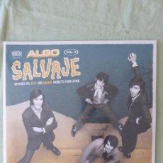 Algo Salvaje (Untamed 60s Beat And Garage Nuggets From Spain Vol 2) - DOBLE LP VINILO PRECINTADO