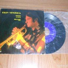 Discos de vinilo: SINGLE VINILO RUDY VENTURA, TICKATOO, (BELTER). Lote 92691835