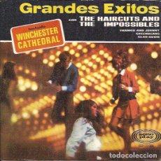 Discos de vinilo: EP-THE HAIRCUTS & THE IMPOSSIBLES GRANDES EXITOS SONOPLAY 10024 SPAIN 1966. Lote 92691930