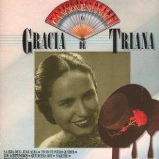 Discos de vinilo: GRACIA DE TRIANA - ANTOLOGIA DE LA CANCION ESPAÑOLA Nº 6 / LP DE 1986 RF-3513 , BUEN ESTADO. Lote 92696955