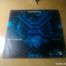 Discos de vinilo: ROBERT CHARLEBOIS Y LOUISE FORESTIER - LINDBERG + LONG FLIGHT. Lote 92697495