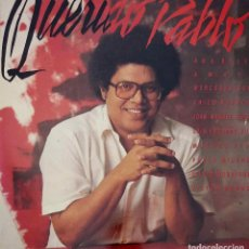 Discos de vinilo: PABLO MILANÉS. QUERIDO PABLO. CON ANA BELÉN, LUIS EDUARDO AUTE, MERCEDES SOSA,MIGUEL RÍOS...DOBLE LP. Lote 92720445