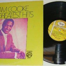 Discos de vinilo: LP - SAM COOKE - 16 GREATEST HITS - MADE IN USA - SAM COOKE. Lote 92732945