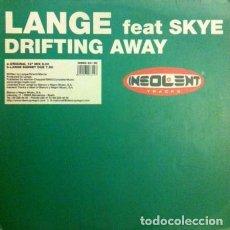 Discos de vinilo: LANGE FEAT SKYE ?– DRIFTING AWAY. Lote 92740710