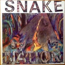 Discos de vinilo: SNAKE NATION : SNAKE NATION [USA 1989]. Lote 92757680