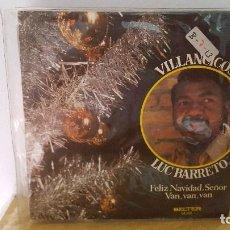 Discos de vinilo: SINGLE - LUC BARRETO / VILLANCICOS - FELIZ NAVIDAD SEÑOR / VAN, VAN, VAN - BELTER 05.103-1971-PROMO. Lote 92764425