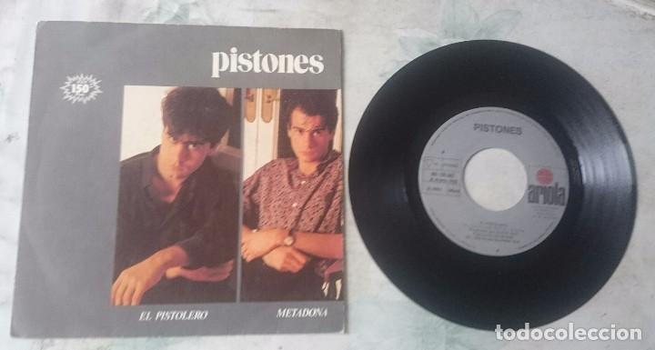 PISTONES: EL PISTOLERO / METADONA (ARIOLA 1983) (Música - Discos - Singles Vinilo - Grupos Españoles de los 70 y 80)