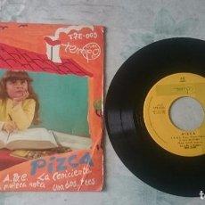 Discos de vinil: PIZCA: ABC + 3 (DISCOS TEMPO 1966). Lote 92772980