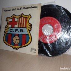 Discos de vinilo: HIMNE DEL C,F, BARCELONA -Y SARDANAS LA RONDALLA -COBLA CARAVANA-SONOPLAY-AÑO 1969. Lote 92775455