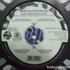 Discos de vinilo: XPONE FEAT. QUEEN REGINA ?– STRANGER IN PARADISE. Lote 92786935