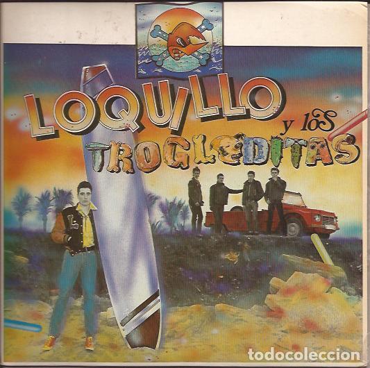 SINGLE- LOQUILLO Y LOS TROGLODITAS VAQUEROS DEL ESPACIO HAWAI 5-0 TRES CIPRESES 1983 (Música - Discos - Singles Vinilo - Grupos Españoles de los 70 y 80)