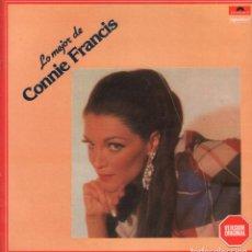 Discos de vinilo: CONNIE FRANCIS - LO MEJOR DE CONNIE FRANCIS / LP POLYDOR DE 1981 RF-3538 BUEN ESTADO. Lote 92794210