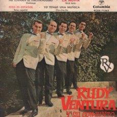 Discos de vinilo: RUDY VENTURA Y SU CONJUNTO / ME LLAMAN EL PACHANGUERO....EP COLUMBIA DE 1961 RF-2766. Lote 92797545
