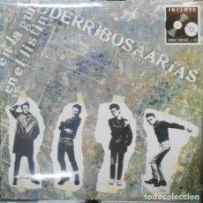 Discos de vinilo: LP DERRIBOS ARIAS EN LA GUIA EL LISTIN VINILO + CD RSD 2016 MOVIDA. Lote 117613418