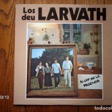 Discos de vinilo: LOS DEU LARVATH - AU CAP DE LA PACIENCIA - FOLK OCCITANO. Lote 92804505