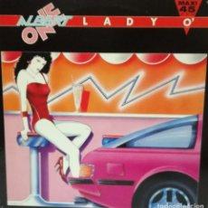 Discos de vinilo: ALBERT ONE - LADY O' MAXI SINGLE SPAIN 1985. Lote 92806540