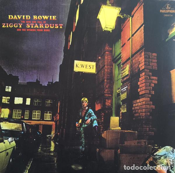 LP DAVID BOWIE THE RISE AND FALL OF ZIGGY STARDUST AND THE SPIDERS FROM MARS VINILO (Música - Discos - LP Vinilo - Pop - Rock - Extranjero de los 70)
