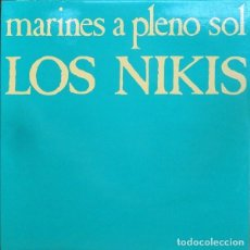 Discos de vinilo: LP LOS NIKIS MARINES A PLENO SOL VINILO + CD MOVIDA PUNK. Lote 107099147