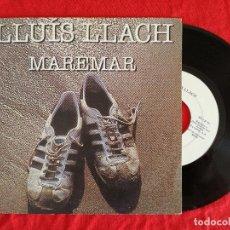 Discos de vinilo: LLUIS LLACH, MAREMAR (ARIOLA) SINGLE PROMOCIONAL. Lote 92823315