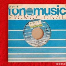 Discos de vinilo: LUIS PASTOR, EVOHE (FONOMUSIC 1985) SINGLE PROMOCIONAL. Lote 92824090