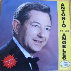 Discos de vinilo: MAXI - ANTONIO DE LOS ANGELES - RUMBA LAMBADA / ROSA DEL MAR (SPAIN, S-5 RECORDS 1990). Lote 92835535