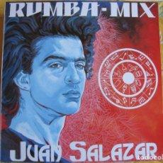 Discos de vinilo: MAXI - JUAN SALAZAR - RUMBA MIX(MEDLEY) / MUCHA MARCHA/PARA QUERERTE/LA SAETA. Lote 92837290