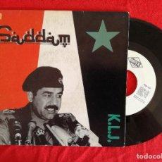 Discos de vinil: K.L.J. SADDAM (MAX) SINGLE PROMOCIONAL ESPAÑA. Lote 92838495