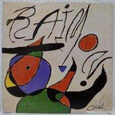 Discos de vinilo: RAIMON - QUAN L'AIGUA ES QUEIXA (LP RCA 1979) PORTADA DE JOAN MIRO. Lote 92838498